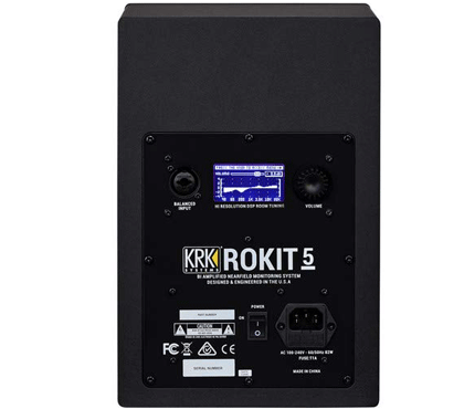 KRK ROKIT 5 G4 5″ 2-Way Active Studio Monitor