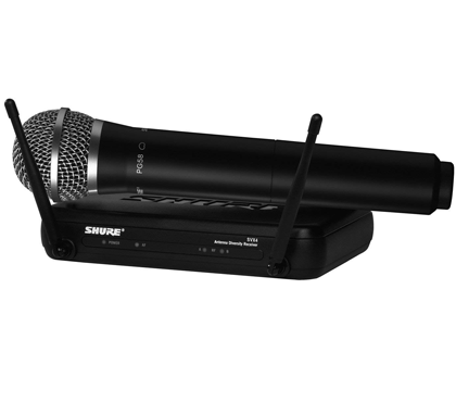 Shure SVX24/PG58 Hand Chordless Microphone System