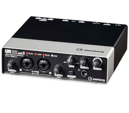 Steinberg UR22 MKII USB Audio Interface / Black