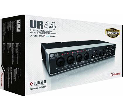 Steinberg UR44 6×4 USB 2.0 Audio Interface