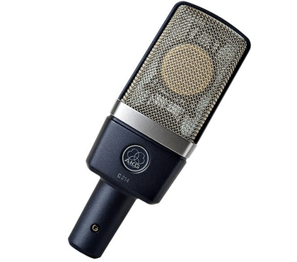 AKG Pro Audio C214 Stereo Set Condenser Microphone, Cardioid