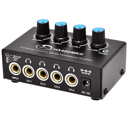 Cymrix HA400 MKII 4-Channel Headphone Amplifier