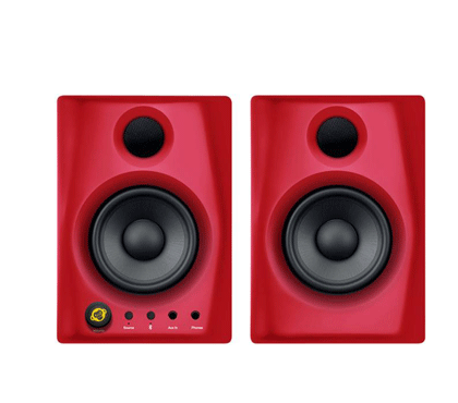 Monkey Banana Gibbon Air Bluetooth Speakers ( Red And Black).