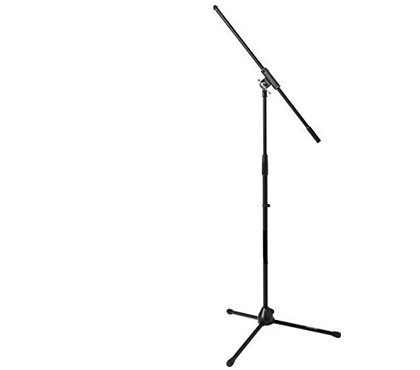 HAWK PROAUDIO Tripod Mic Stand with Fixed-Length Boom