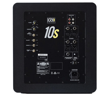 KRK 10s 150W Active Powered Subwoofer