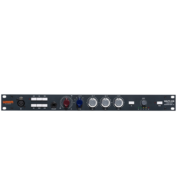 Warm Audio WA-73EQ Single Channel British Microphone Preamp and EQ