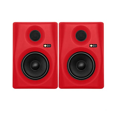 Monkey Banana Gibbon 8 Active Monitor (Pair)- Red