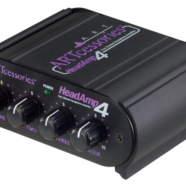ART HeadAMP 4 Eight Output Stereo Headphone Amp