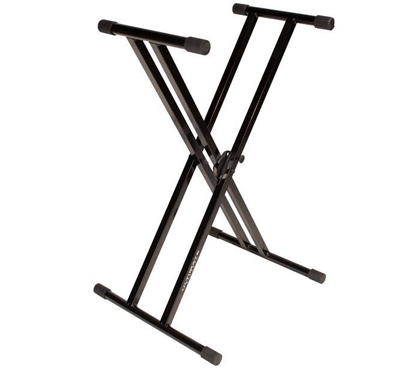 Ultimate Support JS-502D JamStands Series Double Brace X-Style Keyboard Stand