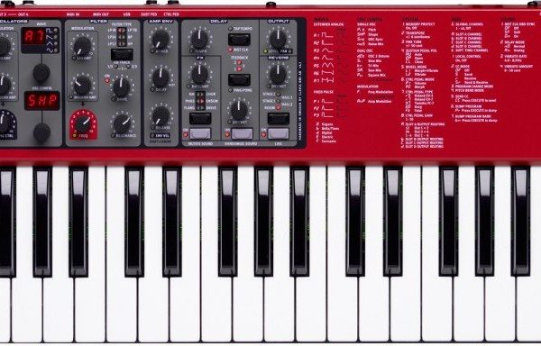 Nord Lead A1 49-Key Analog Modeling Synthesizer