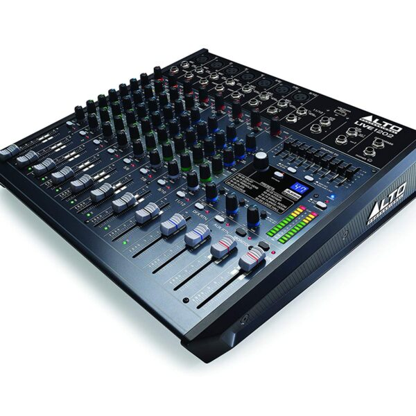 Alto Professional Live 1202 | 12-Channel/2-Bus Mixer with 7 XLR inputs
