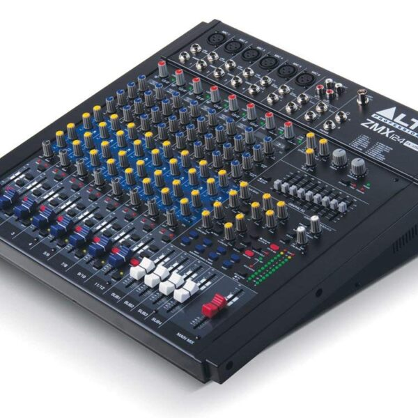 Alto Professional ZMX124FX USB 12-Channel Analog Mixer