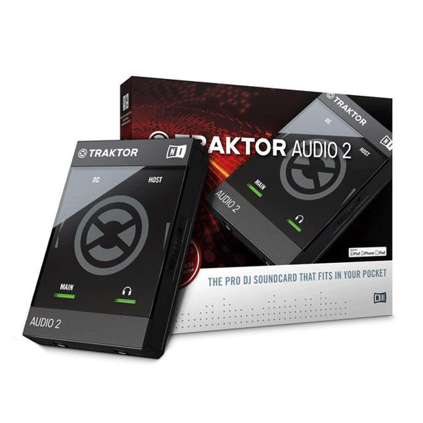 Native Instruments Traktor Audio 2 MKII DJ Controller Interface