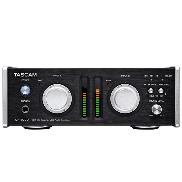 TASCAM UH-7000 High Resolution USB Interface and Stand Alone Microphone Preamp