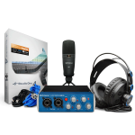 PreSonus AudioBox 96 Studio High Definition Recording Kit, Blue