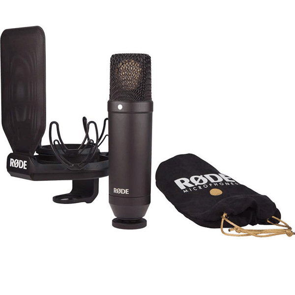 Rode NT1KIT Cardiod Condenser Microphone with SMR Shock Mount