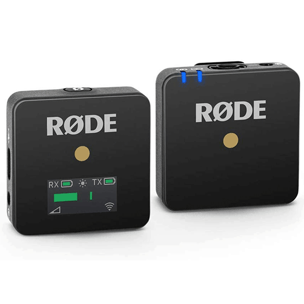 Rode Wireless Go – Compact Wireless Microphone System, Transmitter and Receiver